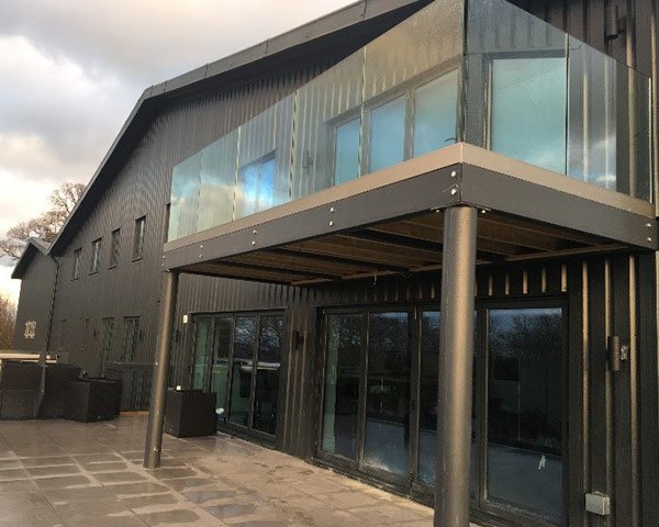Balustrades, Chester, JMP Windows