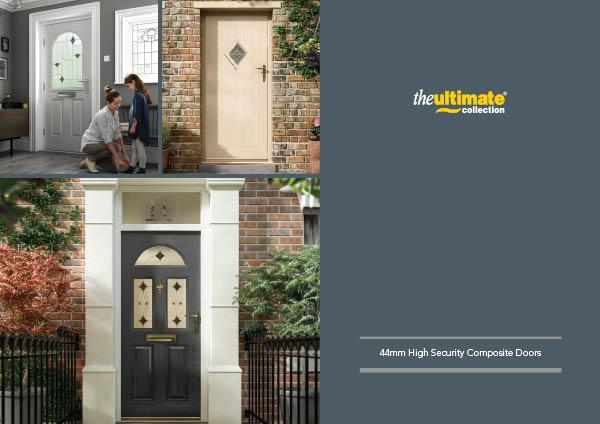 44mm High Security Composite Doors