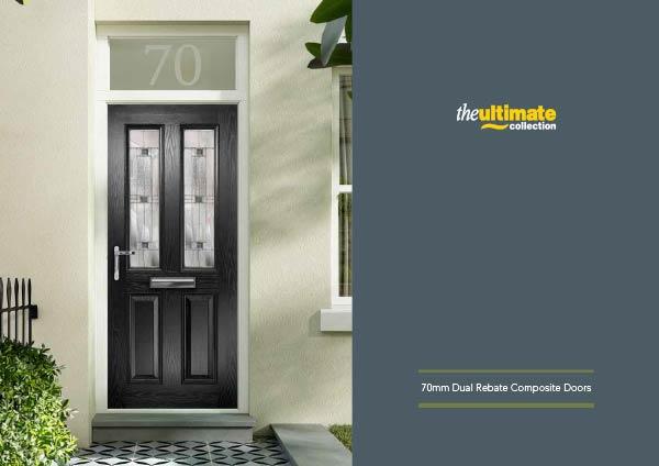 70mm Dual Rebate Composite Doors