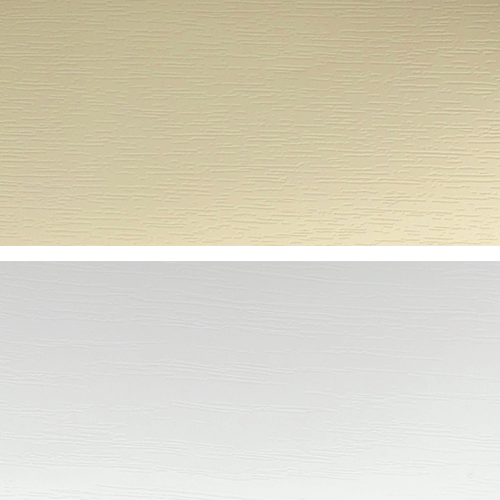 Ivory with White Grain - Window and Door Colours