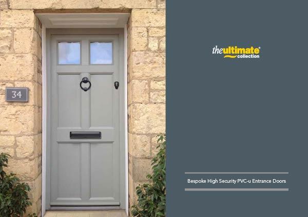 Ultimate Security Bespoke PVCU Doors